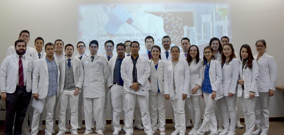 RECIBE HOSPITAL GENERAL A  NUEVOS RESIDENTES MÉDICOS