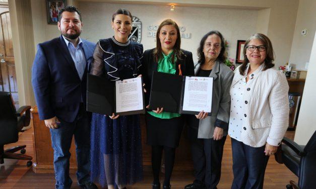CONVENIO DE COLABORACIÓN PARA COMBATIR LA VIOLENCIA HACIA LA MUJER