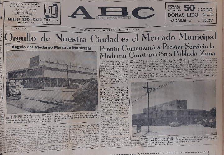 EL MERCADO QUE FUE UN ORGULLO DE MEXICALI