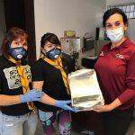 ALTRUISMO DEPORTIVO: ALEXA MORENO DONA CARETAS PROTECTORAS