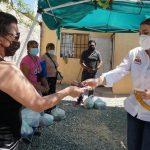 ENTREGAN ALIMENTOS DEL DONATÓN A FAMILIAS VULNERABLES