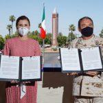DESTINAN PREDIO PARA CONSTRUCCIÓN DE UNA COMPAÑÍA DE LA GUARDIA NACIONAL EN MEXICALI
