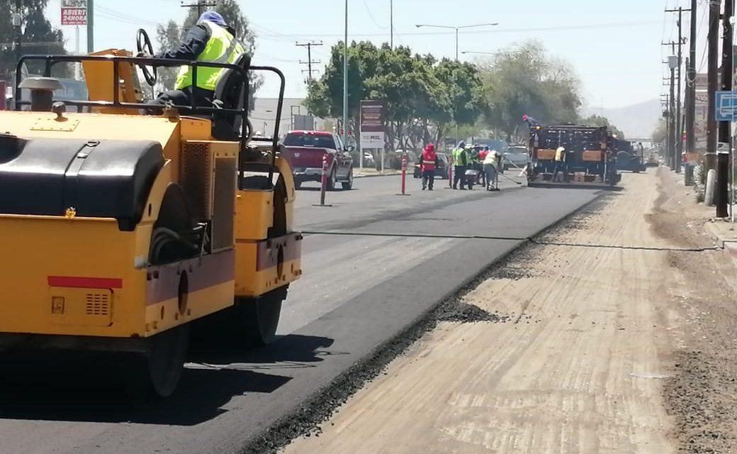 REHABILITAN MÁS DE 68 MIL METROS CUADRADOS DE VIALIDADES EN MEXICALI