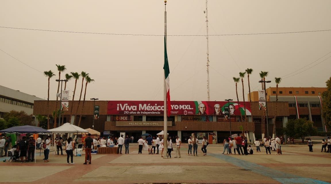 PRONOSTICAN PRECIPITACIÓN DE CENIZAS SOBRE MEXICALI