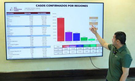 HAY DISMINUCIÓN DE CASOS ACTIVOS EN BC