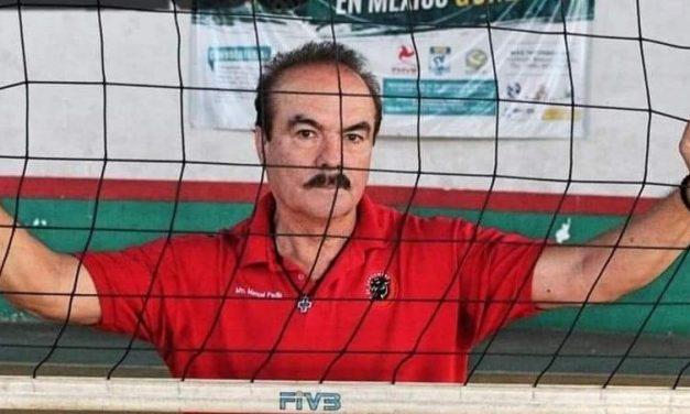LLEGA EL VOLEIBOLISTA MANUEL PADILLA AL SALÓN DE LA FAMA