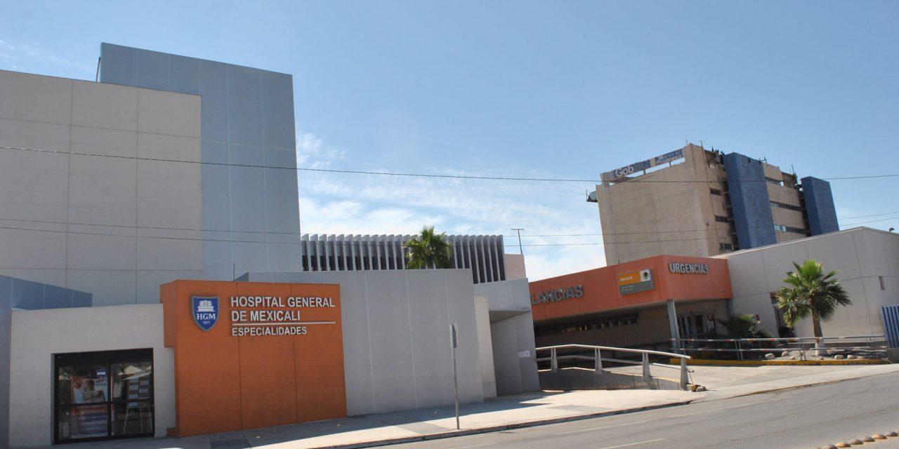 ANTE AUMENTO DE CASOS SE RECONVERTIRÁ EL HOSPITAL GENERAL DE MEXICALI