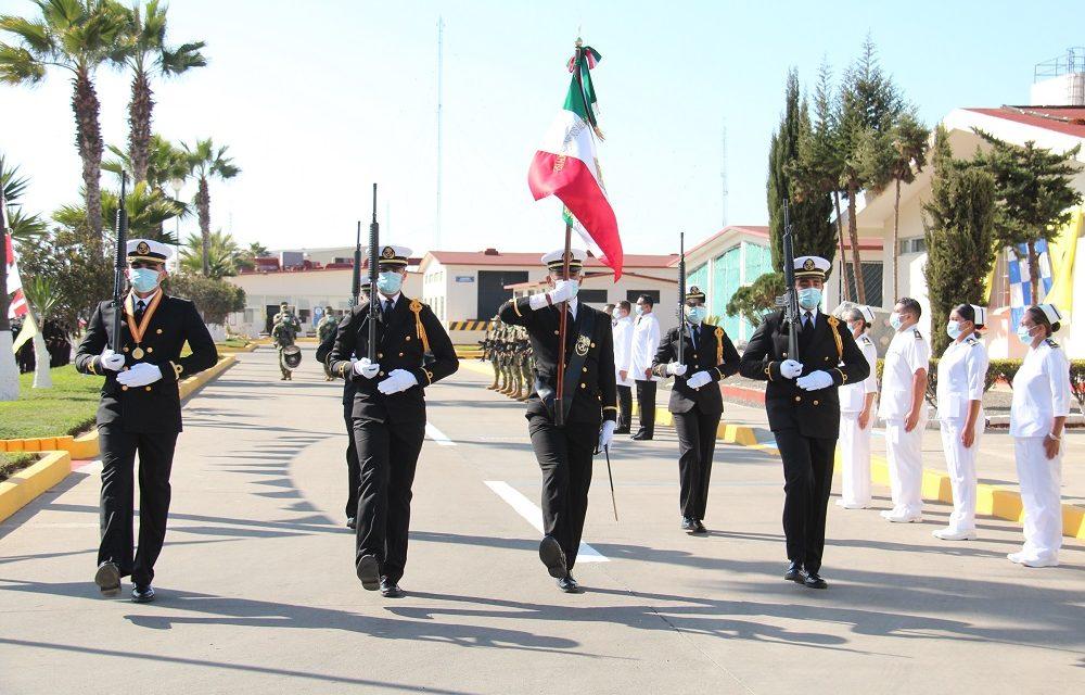 CEREMONIA DEL DÍA DE LA ARMADA DE MÉXICOEN ENSENADA