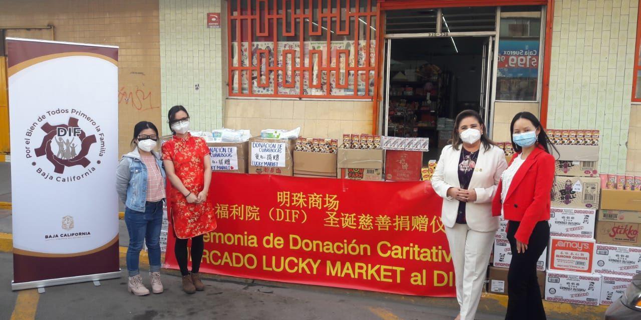 IMPORTANTE DONATIVO POR PARTE DE EMPRESARIOS CHINOS