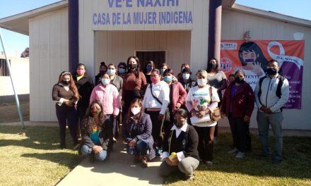 IMPARTEN CURSO A MUJERES INDÍGENAS DE SAN QUINTÍN