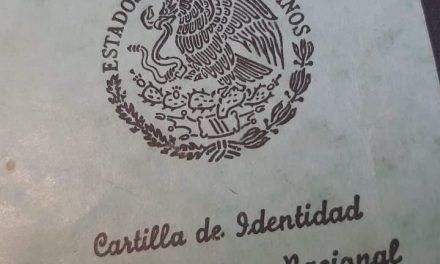 TERMINA ESTE 31 EL PROCESO DE LIBERACIÓN DE LA CARTILLA MILITAR