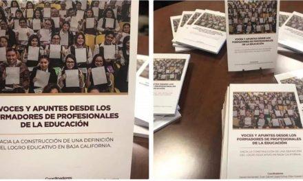 PRESENTARON LIBRO A NIVEL NACIONAL LOS NORMALISTAS DE BC