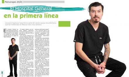"""ASÍ ES LA """"BATALLA"""" DENTRO DEL HOSPITAL GENERAL DE MEXICALI"""