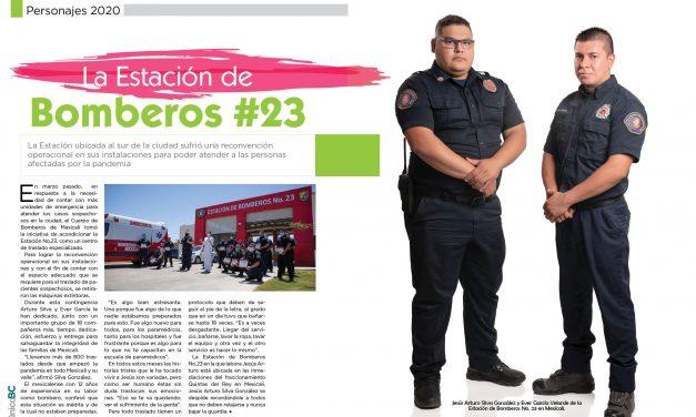 LOS BOMBEROS DE LA ESTACIÓN #23