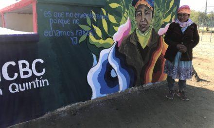 UN MURAL CON DEDICATORIA ESPECIAL EN SAN QUINTÍN