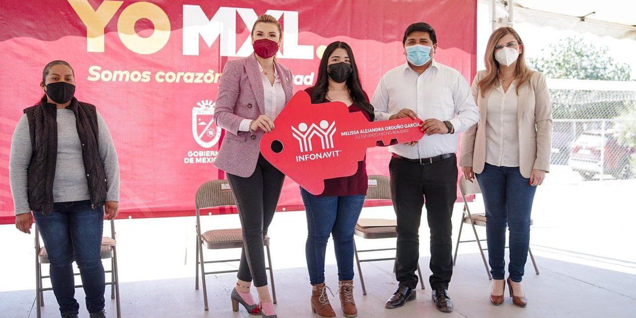 ENTREGAN PRIMERAS CASAS RECUPERADAS Y RESTAURADASEN MEXICALI