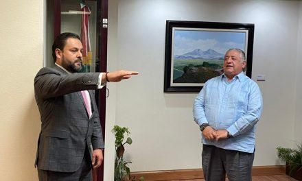 NUEVO OFICIAL MAYOR EN BC: ISRAEL CLEMENTE GONZÁLEZ
