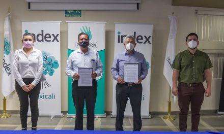 CONVENIO ENTRE GRUPO EDUCATIVO 16 DE SEPTIEMBRE Y EMPRESAS DE INDEX MEXICALI