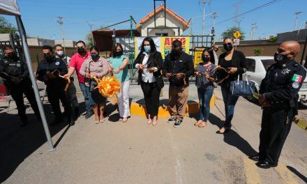 INSTALAN 13 BOTONES DE ALERTA EN COLONIA DE MEXICALI
