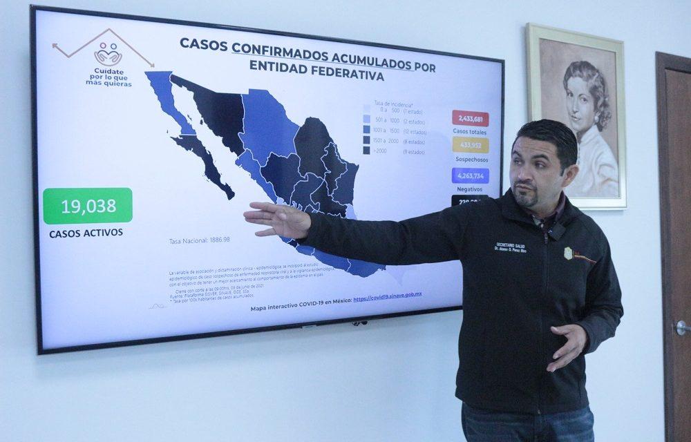 "MEXICALI EN SEMÁFORO EPIDEMIOLÓGICO ""AMARILLO"""