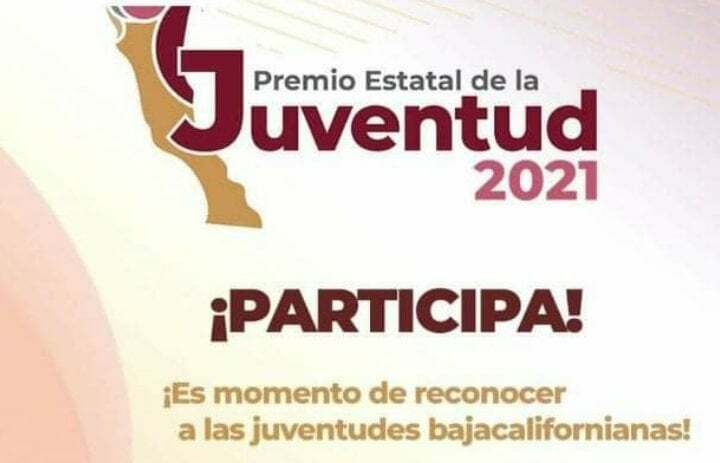 CONVOCATORIA PARA EL PREMIO ESTATAL DE LA JUVENTUD 2021
