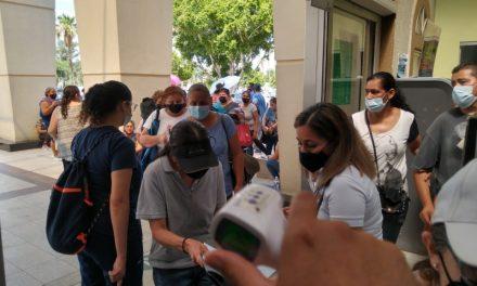 GRAN RESPUESTA A LA SEGUNDA DOSIS DE PFIZER EN MEXICALI