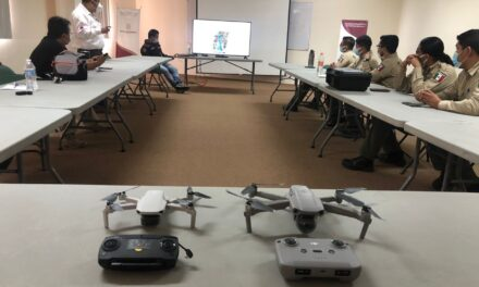 LOS CAPACITAN EN EL USO DE DRONES Y TECNOLOGÍA