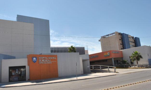 REACTIVAN CONSULTAS Y CIRUGÍAS EN HOSPITAL GENERAL DE MEXICALI